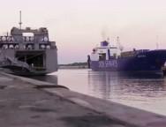 Gioia Tauro il video del trasbordo delle armi chimiche