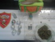 "Carabinieri Reggio, 3 etti di ""marijuana"": Arrestato Doldo"