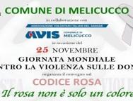 """Melicucco, incontro – dibattito """"Codice Rosa"""" contro le violenze sulle donne"""