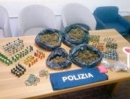 Taurianova, trovati due chili di droga e numerose cartucce