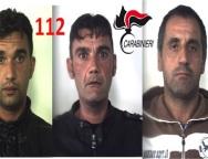 Reggio Calabria estorsione : in manette tre persone