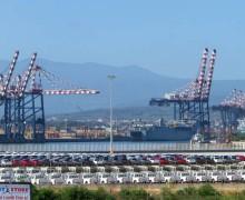 Visita programmatica di Rixi al Porto di Gioia Tauro