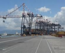 Cancellieri, Il vice ministro alle Infrastrutture e ai trasporti in visita al Porto di Gioia tauro
