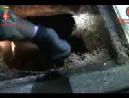 Bovalino, scoperto bunker sotterraneo in muratura.VIDEO
