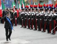 Cerimonia di cambio comandante della Scuola Allievi Carabineiri di Reggio Calabria
