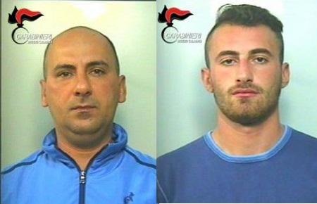 Rosarno, due arresti per coltivazione di sostanza stupefacente - pianainforma.it - Grasso-Rocco-Consiglio-Giuseppe