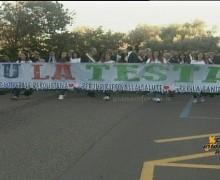 """Speciale manifestazione """"Su la Testa"""" a difesa dell'Ospedale di Polistena"""