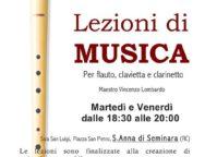 Sant'Anna di Seminara, creazione di orchestra di fiati