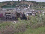 Rosarno, incendiati 9 mezzi per la raccolta rifiuti della Camassa(VIDEO)