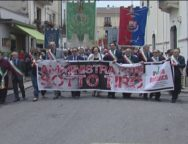 Polistena, 1 manifestazione indetta da Avviso Pubblico e dal comune di Polistena a sostegno degli amministratori minacciati