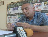 Palmi, conferenza stampa del Presidente della Palmese calcio Giuseppe Carbone