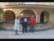 San Ferdinando, Dune Blu: inaugurato il murales dell'artista Fernando Masi