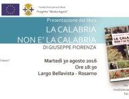 """Rosarno, presentazione del libro """"La Calabria non è la Calabria"""" di Giuseppe Fiorenza"""