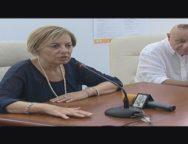San Ferdinando, conferenza stampa assessore ambiente Antonella Rizzo e intervento del cittadino Burzi' Antonino