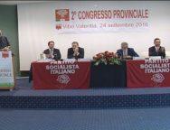 Vibo, secondo congresso provinciale del Partito Socialista Italiano, riconfermato segretario Gian Maria Lebrino