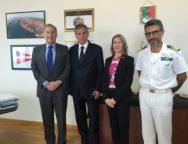L'Ambasciatore americano John Philips e il Console Generale degli Stati Uniti Mary Allen Countryman hanno fatto visita all'Autorità portuale di Gioia Tauro