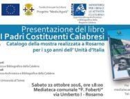 """Rosarno, presentazione del libro """"I Padri costituenti calabresi"""""""