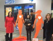 """Lamezia, anche la Sacal ha aderito all'iniziativa del Soroptimist Club """"Orange the World"""""""