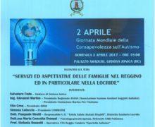 2 Aprile Autismo: convegno su Servizi ed aspettative delle famiglie nel reggino e nella Locride