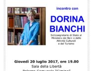 Soveria Mannelli, incontro con il Sottosegretario al Turismo Dorina Bianchi