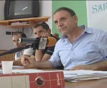 San Ferdinando, conferenza stampa del presidente Ass. Santa Barbara Giuseppe Cali'