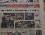 Rassegna Stampa 18 Agosto 2017