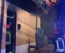 Lamezia Terme, Incendio in un'abitazione,salva famiglia
