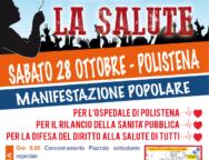 Polistena, manifestazione: Prima la salute