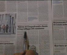 Rassegna Stampa 17 Ottobre 2017