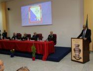 Viscomi all'inaugurazione della nuova caserma dei carabinieri