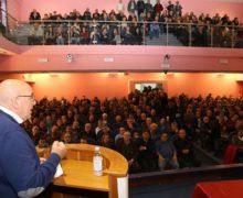 Il Presidente Oliverio ha incontrato  a Locri i lavoratori forestali dell'area Sud della Calabria