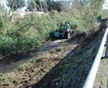 Gioia Tauro, Budello: Pulizia del canale e raddoppio di canna del sottopasso