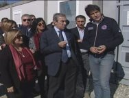 Il Senatore Maurizio Gasparri a San Ferdinando per parlare di immigrazione