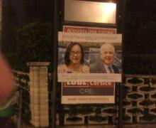 Ndrangheta: A Buccinasco affissi nella notte poster con boss Papalia in versione Drag Queen