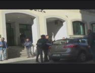 Operazione Terramara, uscita degli arrestati dalla Questura