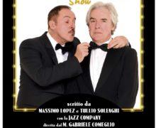 "Cittanova, al Teatro Gentile ""MASSIMO LOPEZ & TULLIO SOLENGHI SHOW"""
