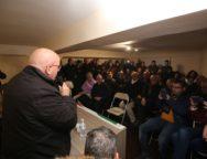 Oliverio all'inaugurazione della nuova sede del Pd di Mammola