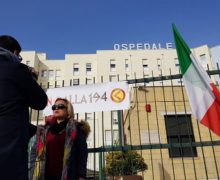 Azione Identitaria, sit-in contro la legge 194
