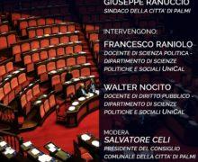 Palmi, incontro sulla nuova legge elettorale rosatellum bis