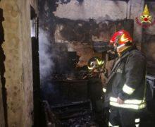 Chiaravalle, Incendio in abitazione, morta 93enne