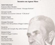 """Quarantennale Moro: la figlia Agnese ospite del Liceo """"Rechichi"""""""