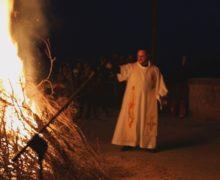 Rosarno, acceso il luminario di San Francesco