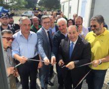 San Ferdinando, Coldiretti e focsiv donano due container attrezzati a campo migranti