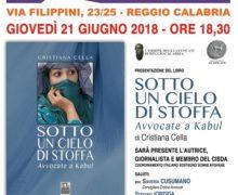 La giornalista, attivista del CISDA, Cristiana Cella per la prima volta a Reggio Calabria, ospite di Città del Sole edizioni, Ordine degli Avvocati e Circolo culturale Anassilaos