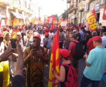 Reggio Calabria, corteo Usb per Soumaila Sacko