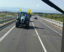 Mobilitazione della Coldiretti Calabria contro gli sprechi del terzo megalotto della SS.106 jonica Sibari- Roseto Capo Spulico