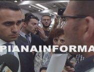 Gioia tauro, un portuale esodato in agenzia parla con il Ministro Di Maio