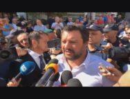 Salvini a San Luca