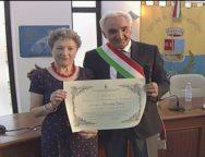 San Ferdinando, conferita la cittadinanza onoraria a Dorothy Janes figlia naturale di Antonio Mazzitelli
