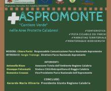 Reggio, conferenza stampa Parco Aspromonte